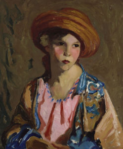 Mildred-O-Hat by Robert Henri