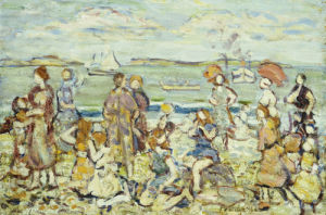 The Inlet by Maurice Prendergast