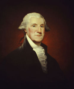 The Steigerwalt-Parker-Hart Portrait Of George Washington by Gilbert Stuart