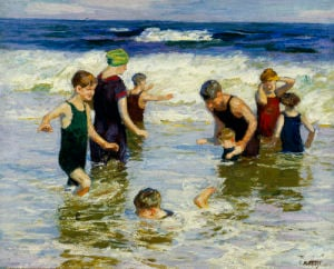 The Bathers by Edward Henry Potthast