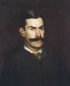 Portrait Of Frank Macdowell by Thomas Cowperthwait Eakins