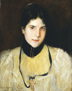 The Yellow Blouse by William Merritt Chase