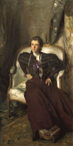 Portrait Of Miss Alice Brisbane Thursby by John Singer Sargent