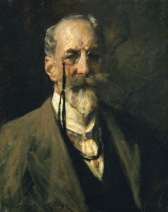 Self-Portrait by William Merritt Chase
