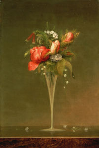 Still Life With Wine Glass by Martin Johnson Heade