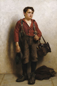 Shoeshine Boy by John George Brown