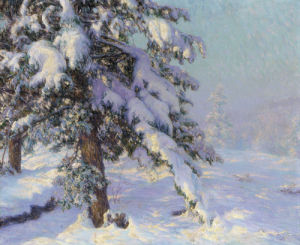 Snow-Laden by Walter Launt Palmer