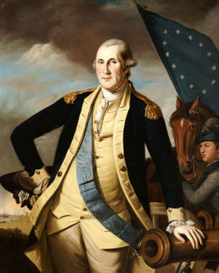 George Washington by Charles Willson Peale