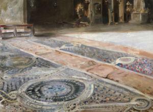 Venetian Interior by John Singer Sargent