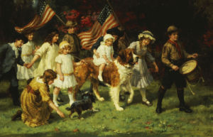 American Parade by George Sheridan Knowles