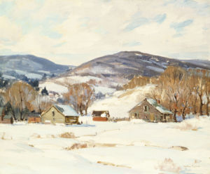 Early Snow by George Gardner Symons
