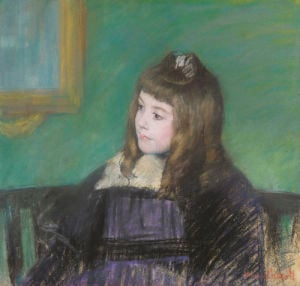 Portrait De Marie-Therese Gaillard by Mary Cassatt