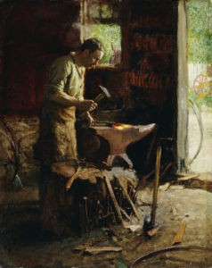 Blacksmith by Edward Henry Potthast