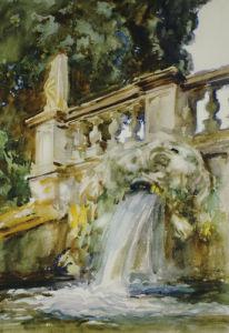 Villa Torlonia, Frascati, 190 by John Singer Sargent