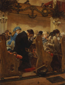 Christmas Prayers, 1872 by Henry Bacon