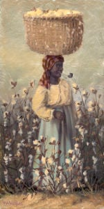 Cotton Picker by William Aiken Walker