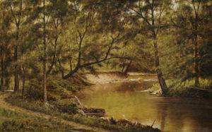 Woodland Interior by Thomas Worthington Whittredge