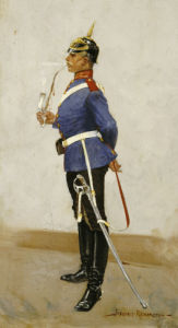 Infantry Officer, Full Dress by Frederic Remington