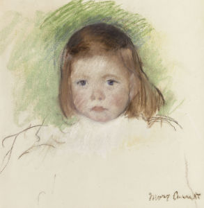 Portrait Of Ellen Mary Cassatt by Mary Cassatt