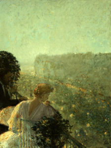 Summer Evening, Paris by Frederick Childe Hassam