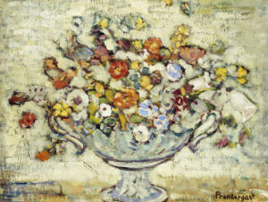 Floral Still Life by Maurice Prendergast