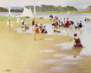 Bathers by Edward Henry Potthast
