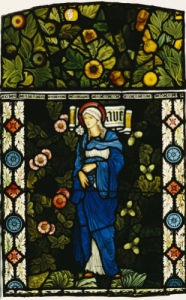 The Blessed Virgin Mary by Christie's Images