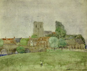 Wareham, Dorset, 1895. by Charles Rennie Mackintosh