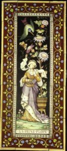 A Maiden In Medieval Costume by Christie's Images