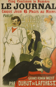 Le Journal La Traite Des Blanches' by Theophile-Alexandre Steinlen