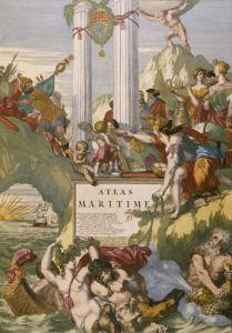 Le Neptune Francois, Maritime Atlas. C.1693 by Christie's Images