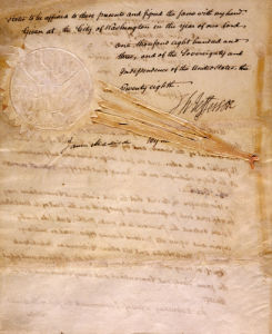 Document Constituting The Proclamation Of The Louisiana Purchase Treaty, Dated 1803 by Christie's Images