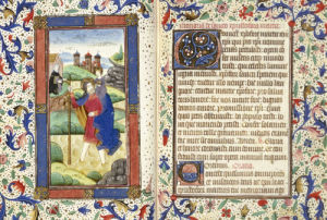Book Of Hours, Use Of Sarum, Ca.1465 by Christie's Images