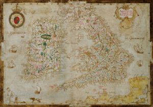 England And Ireland. Laurence Nowell, 1564 by Christie's Images