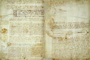 The Codex Hammer Pages 48-51 by Leonardo da Vinci