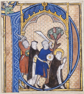 Assassination Of St. Peter Martyr, Ca 1300 by Christie's Images