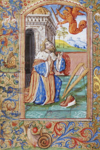 King David At Prayer by Christie's Images