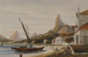 Botafogo Bay, Suburbs Of Rio De Janeiro, 1852. by William Gore Ouseley