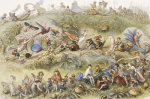 Triumphal March Of The Elf King in Fairyland, 1870 by Christie's Images