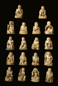 18 Luohans Including Xin Pindeng, Futuo Miduo by Christie's Images