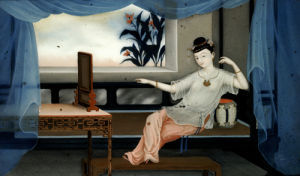 Pair Of Chinese Export Reverse Paintings by Christie's Images