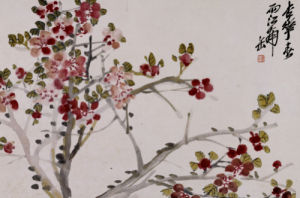 Flowers, 1910 by Wu Changshuo