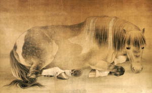 Melancholy Horse by Christie's Images
