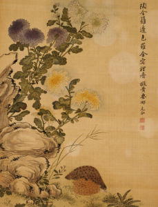 Chrysanthemums And Quail, 1702 by Ma Yuanyu