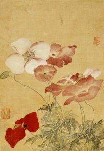 Poppies by Yun Shou Ping