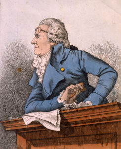 The Specious Orator, 1794 by Robert Dighton