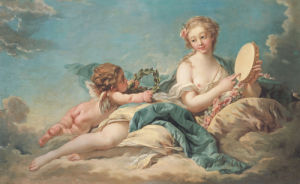 Clio, The Muse Of History And Song, 1758 by Francois Boucher