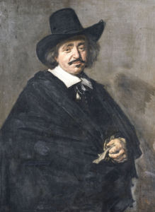 Portrait Of A Gentleman by Frans Hals