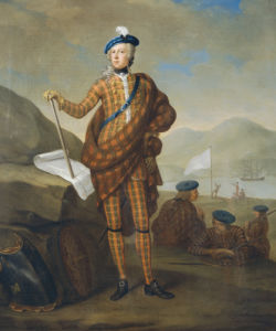 Harlequin Portrait Of Prince Charles Edward Stewart (1720-1788) by Christie's Images