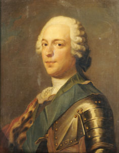Portrait Of Prince Charles Edward Stuart (1720-1788) by Katherine Read